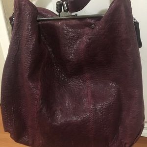 """Jenrigo """"Plum"""" color Italian Bag"""